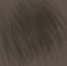 Рисуем шерсть