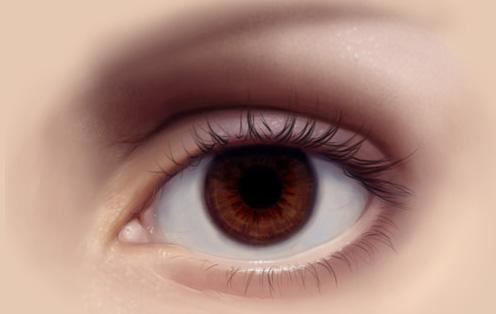 Как рисовать глаза в фотошопе