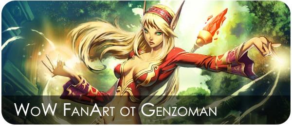 World of Warcraft Фан арт
