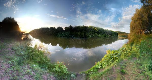 Видео урок создания панорамы в фотошопе