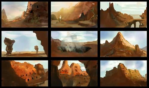 Рисование пейзажей в фотошопе