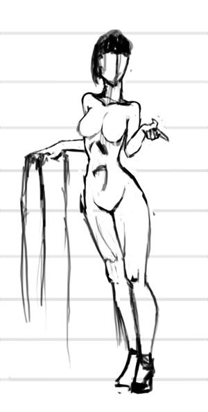 Рисование девушек