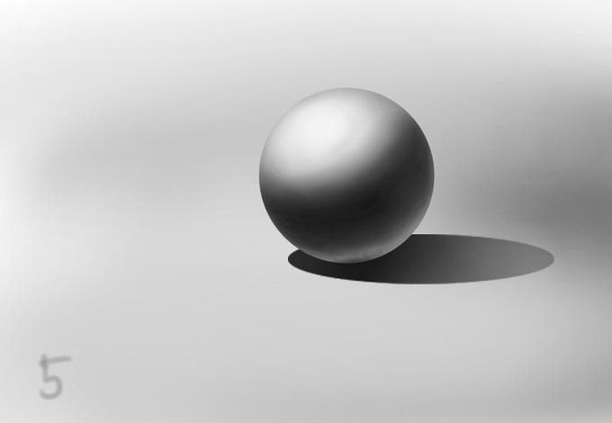 Рисование шара и других форм
