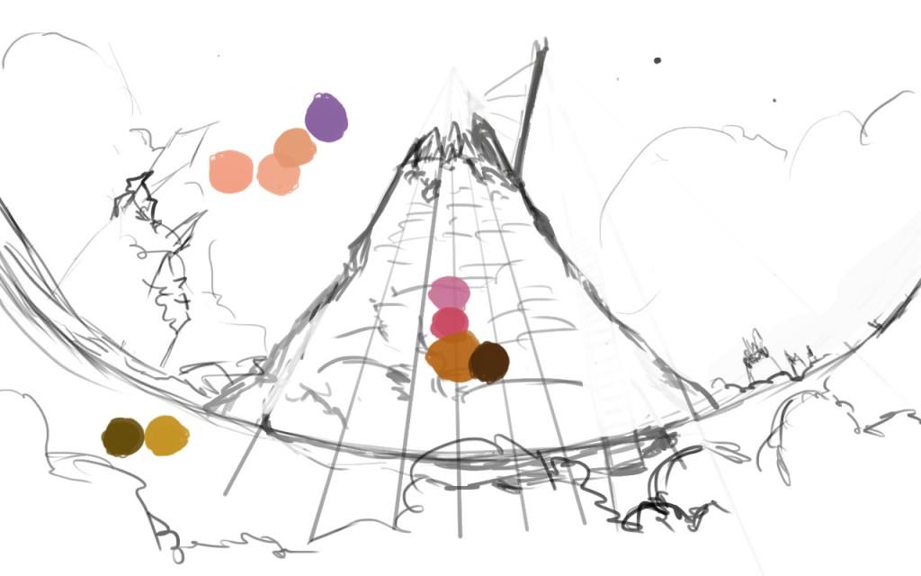 Рисунок сказочного мира