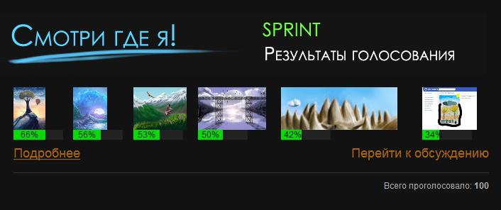 SPRINT | Результаты голосования