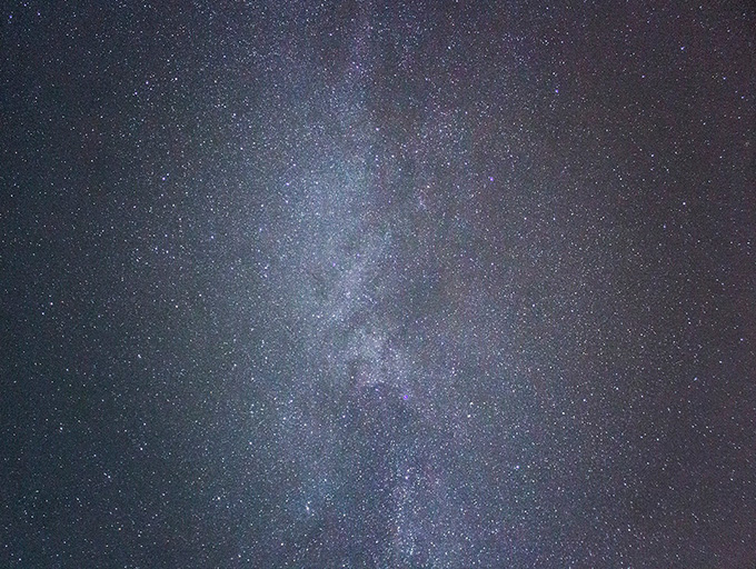 Млечный Путь на фотоаппарат