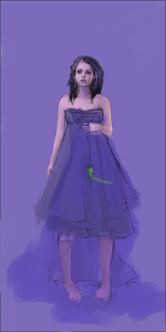 Рисуем девушку Hecate