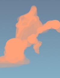 Фотошоп: Облака