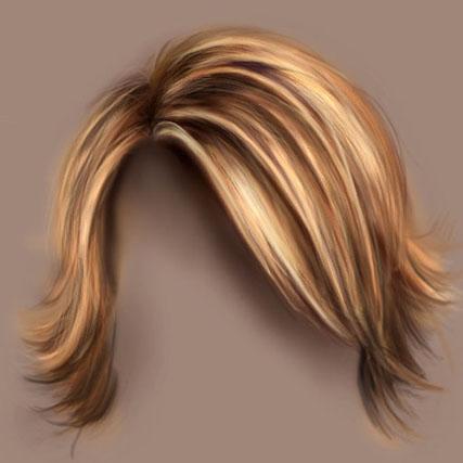 Как рисовать волосы в Фотошопе