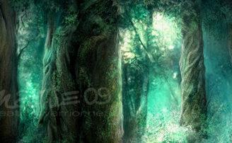 Красивые рисованные пейзажи | Фэнтези