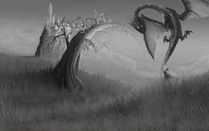 Dreqwind. Рисование дракона