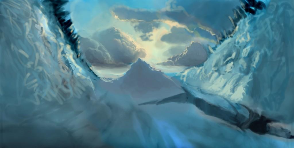 Как рисовать зиму