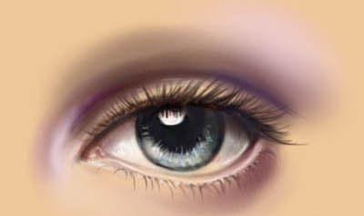 Урок по рисованию глаза