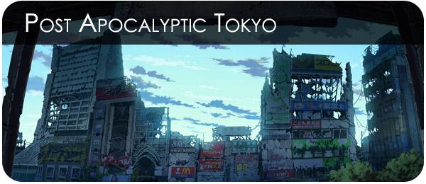 Рисунки апокалипсиса в Токио