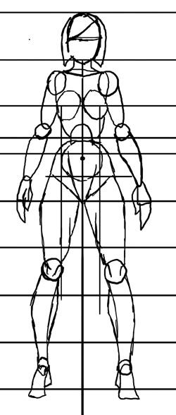 Формула рисования девушек