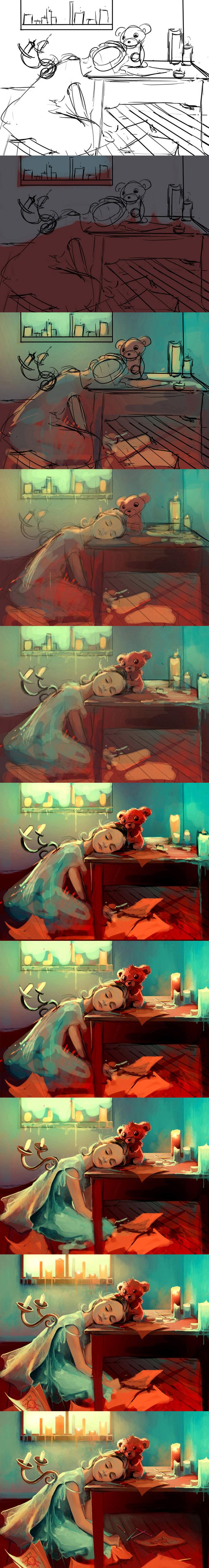 Как рисовать девочку