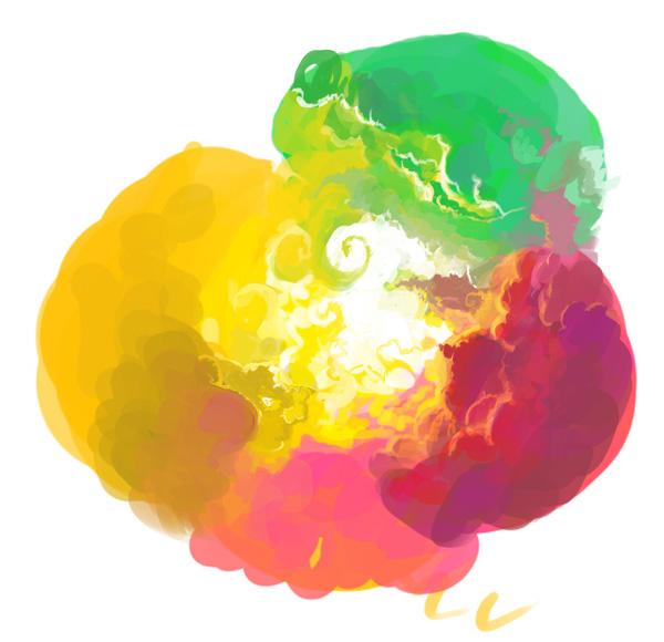 Кисть для рисования облаков
