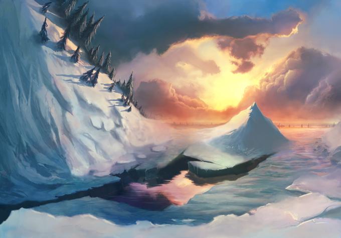 Эволюция навыка рисования облаков