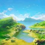Как рисовать берег моря поэтапно