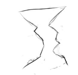 Поэтапное рисование по контуру