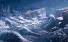 Ледяной пейзаж